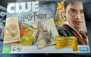 Clue Harry Potter Edition Parker Brothers 2008 100% Complete Excellent Cond