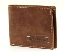bruno banani Bourse Vista Slim Wallet Traverser Cognac/Brown