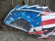 USA Ford Mustang Horse Tin Metal Wall Art Sign Shelby Garage Car Logo Mancave 24