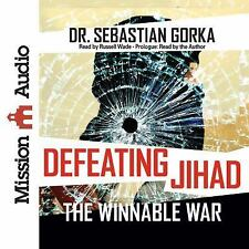 "Audio Book: ""Defeating Jihad : The Winnable War"" by Sebastian Gorka (2016, CD)"