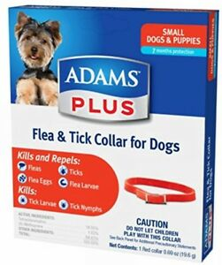 Adams Flea & Tick Collar For Small (Dogs Or Puppy)