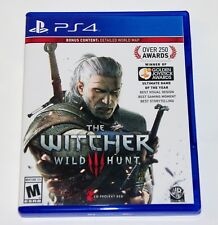 Replacement Case (NO GAME) The Witcher 3 Wild Hunt Playstation 4 PS4 Box