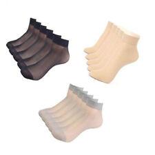 Women's 15 Pairs Ultra Sheer Nylon Ankle Short Stockings Stretchy Sheer Socks