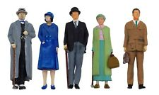 More details for fg10  1930s passenger figures unpainted o scale