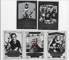 CARLTON HALL OF FAME 5 CARD SET (COMPLETE) SIGNED BY ALEX JESAULENKO