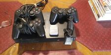 Play Station 2 with 3 Controllers and 2 expansion cards
