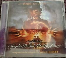 James Horner SOMETHING WICKED THIS WAY COMES Soundtrack Score Intrada CD 2009