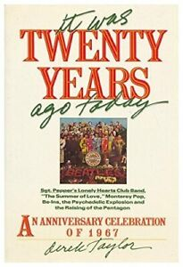 It Was Twenty Years Ago Today by Taylor, Derek Book The Cheap Fast Free Post