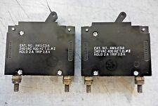 Heinemann AM1-C3-A/ 240 VAC/ 400 Hz/ T.D. #2/ Hold 2 A/ Trip 2.5 A/ Switch Relay