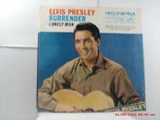 ELVIS PRESLEY -(45 W/PIC. SLV.)- SURRENDER / LONELY MAN - RCA  47 - 7850  - 1961
