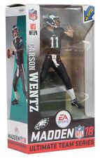 McFarlane NFL EA Sports Madden 18 Series 1 Carson Wentz figure black jersey