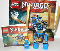 Lego 30292 Ninjago Blauer Ninja Jay mit Nano Mech OVP