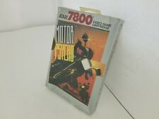 NEW W/CREASED BOX MOTOR PSYCHO GAME FOR ATARI 7800 PAL VERSION (NOT FOR USA) V9