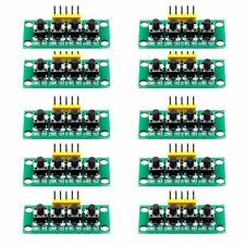4 10pcs 5pin 1x4 4keys Button Keypad Keyboard Breadboard Module For Arduino Diy