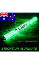 "6"" UV PAQLITE TOOBLITE Glow In The Dark Strontium Aluminate Survival Light Tube"