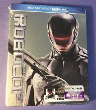 Robocop Steelbook Edición Limitada [] (blu-ray + Dvd) Nuevo