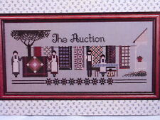 Told In A Garden Cross Stitch Pattern Chart The Auction Amish Quilts TG 3