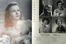 1952 Rice University Yearbook ~ Houston TX THE CAMPANILE 1950s Fashions 50s