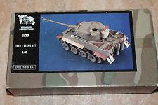 Verlinden 1177 Tiger I Detail Set NEU OVP 1:35 Umbau-Set Resin Panzer