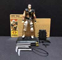 G.I. Joe 25th Cobra Storm Shadow V26 Comic Pack Figure Complete
