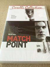 DVD Woody Allen - Match point - IMBALLATO