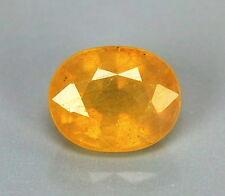 TOP SAPPHIRE : 5,28 Ct Natürlicher Gelber Saphir aus Ceylon
