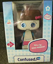 Miss Herbert Confused.com Promo Robot Toy Boxed Mint Brand New
