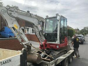 3 ton excavator 2018 Takeuchi Tb230 Immaculate