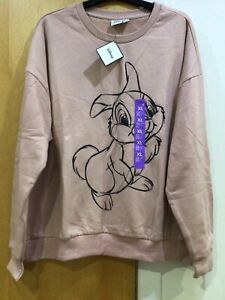 Disney Primark Thumper Blush Jumper Size XL New With Tags