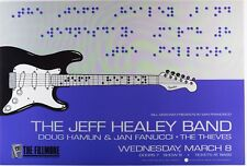 Jeff Healey Band- Original Fillmore Poster- March 8, 1989