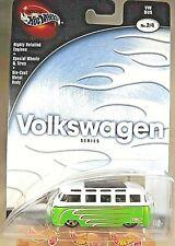 2002 Hot Wheels 100% Volkswagen Series 2/4 VW BUS Green Variant w/Real Rider 5Sp