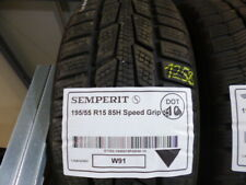1x Winterreifen SEMPERIT 195/55 R15 85H Speed Grip DOT10 - 6mm