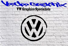 """Adhesivos con el logotipo de Volkswagen 17"""" VW Transporter T6 T5 T4 Calcomanía Vdub caravanas Bonnet"""