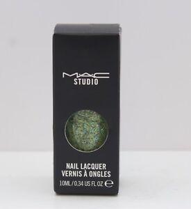 M.A.C Studio Nail Lacquer Nail Polish - Kale Salad, .34 Ounce (BNIB)