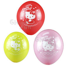AUTHENTIC Sanrio Hello Kitty Birthday Party Supplies Kids Child Cute 8x Balloon