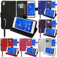 Housse Etui Coque Portefeuille Video Sony Xperia Z3/ Z3 Dual D6603 D6643 D6653