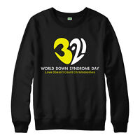 World Down Syndrome Day Jumper, Love Doesn't Count Chromosomes Adult & Kids Top