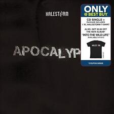 Halestorm Apocalyptic cd single AND XL T-shirt best buy