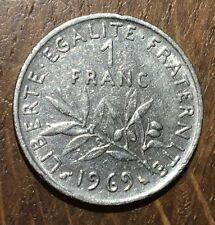 PIECE DE 1 FRANC SEMEUSE 1969 (40)