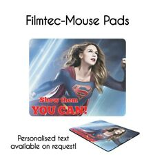 Supergirl Motivational Quote Inspired Mouse Pad, With Personalised Text!