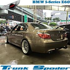 UNPAINTED BMW SEDAN E60 5 SERIES M5 TYPE TRUNK BOOT SPOILER 2004~10 528xi 545i