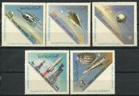 Nord-Jemen 1963 Mi. 316-320 Postfrisch 100% Flugpost Raum