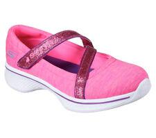 5bcefd273f55f0 NEU SKECHERS Mädchen Ballerinas Slip On GO WALK 4 - JERSEY GEMS Pink