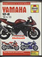 Yamaha YZF-R1 (1998-2003) Haynes Repair Manual 998 YZFR1 YZFR Sports EXUP BN75