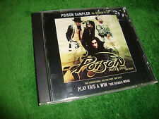 POISON rare promo cd CRACK A SMILE IN STORE PLAY SAMPLER free US shipping