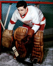 Glenn Hall Detroit Red Wings 8x10 Photo