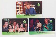 A set  of 3 Phone Cards Rod Stewart