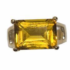ESTATE 14K GOLD SPLENDID CITRINE RING