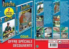Lot 2 DVD Pêche au coup : Pêche au coup & Pêche à l'anglaise avec Jean Desqué