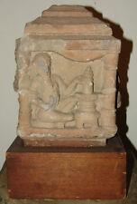 AUTHENTIC AND RARE 12th CENTURY INDIAN SANDSTONE BLOCK FRAGMENT